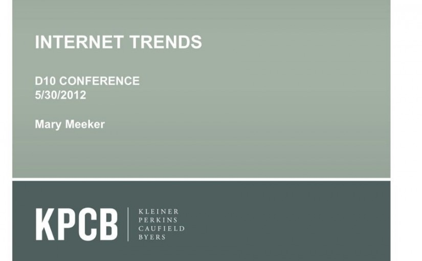 Mary Meeker's Latest Incredibly Insightful Presentation About The State Of The Web – Business Insider