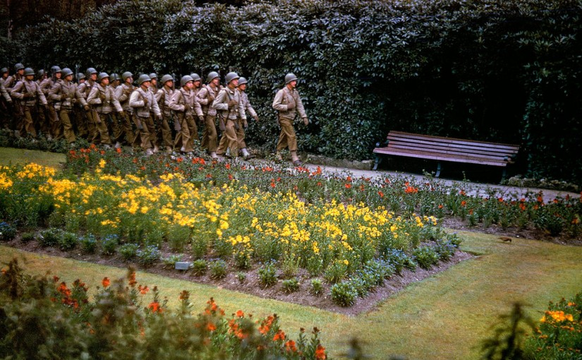 Before and After D-Day: Rare Color Photos From England and France, 1944 – LIFE