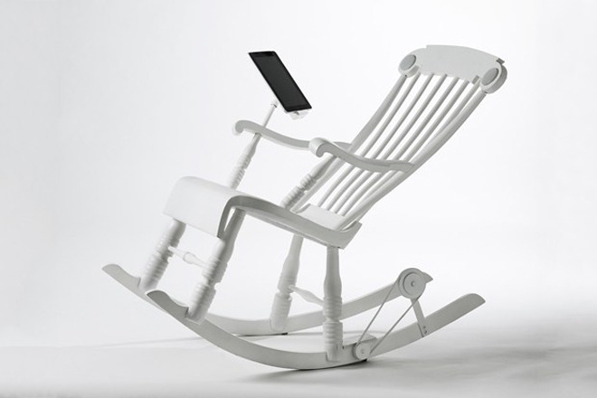 Power-Generating Rocking Chair Charges Your iPad | Wired Design