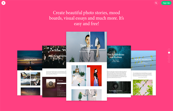 10 Top Design Websites—The Power of Color & Images